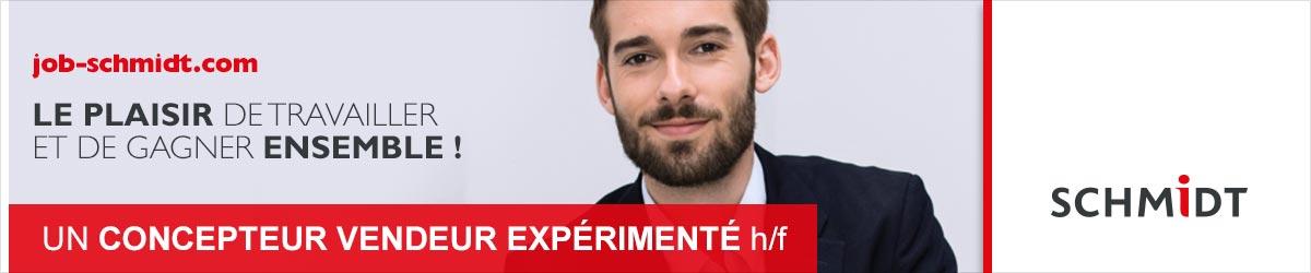 Concepteur vendeur expérimenté h/f